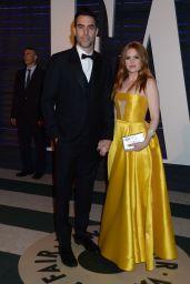Isla Fisher at Vanity Fair Oscar 2017 Party in Los Angeles