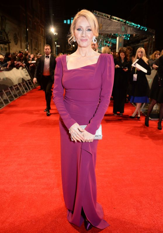 J.K. Rowling - BAFTA Awards in London, UK 2/12/ 2017