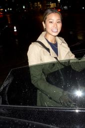 Jamie Chung and her Husband - Leaving