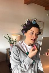 Jane Levy - Social Media Pics, February 2017