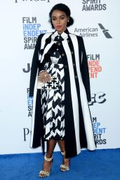 Janelle Monae – Independent Spirit Awards in Santa Monica 2/25/ 2017