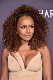 Janet Mock at amfAR New York Gala Red Carpet, 2/8/ 2017
