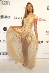 Jasmine Tookes at Elton John AIDS Foundation Academy Awards 2017 Viewing Party in LA