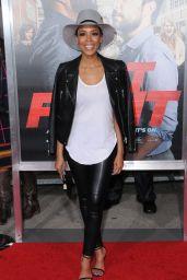Jazmyn Simon – Fist Fight Premiere in Westwood 2/13/ 2017