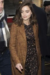 Jenna Coleman - On Her Way to BAFTAs Dinner in London, UK 2/10/ 2017