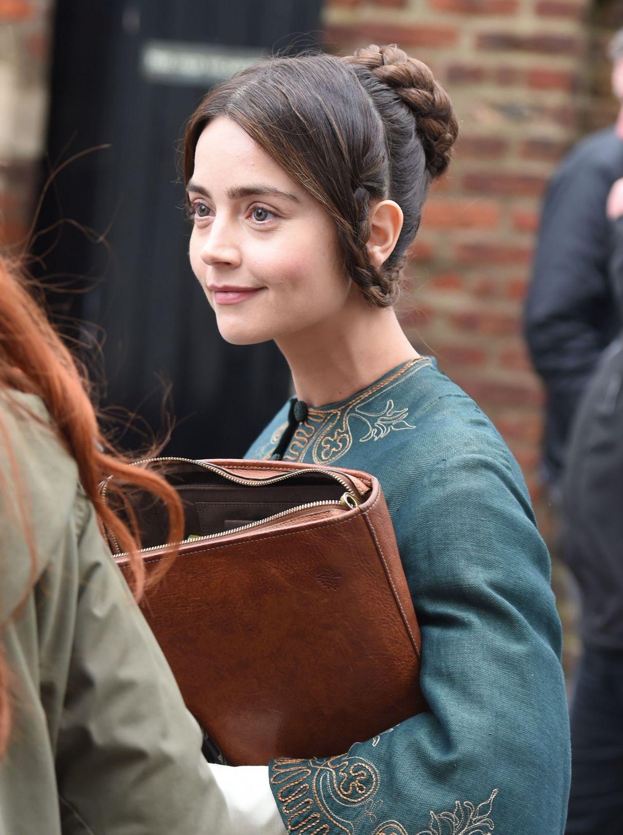 Jenna Coleman Victoria Set In Beverley East Yorkshire