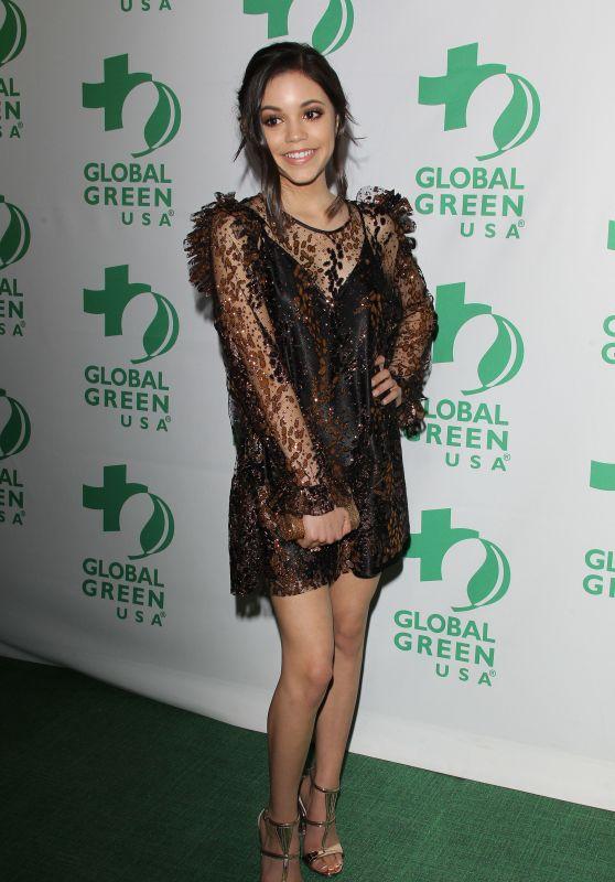 Jenna Ortega – Global Green Pre Oscar Party in Los Angeles 2/22/ 2017