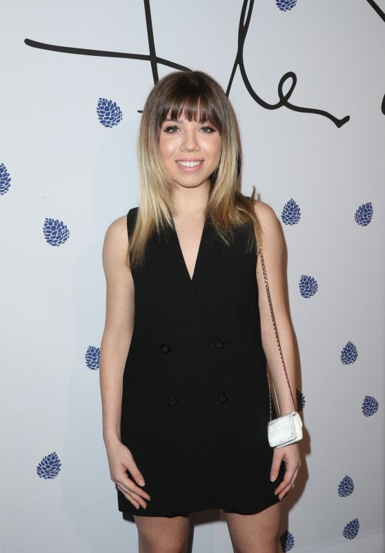 Jennette McCurdy – Tyler Ellis Celebrates 5th Anniversary at Chateau Marmont in West Hollywood 1/31/ 2017