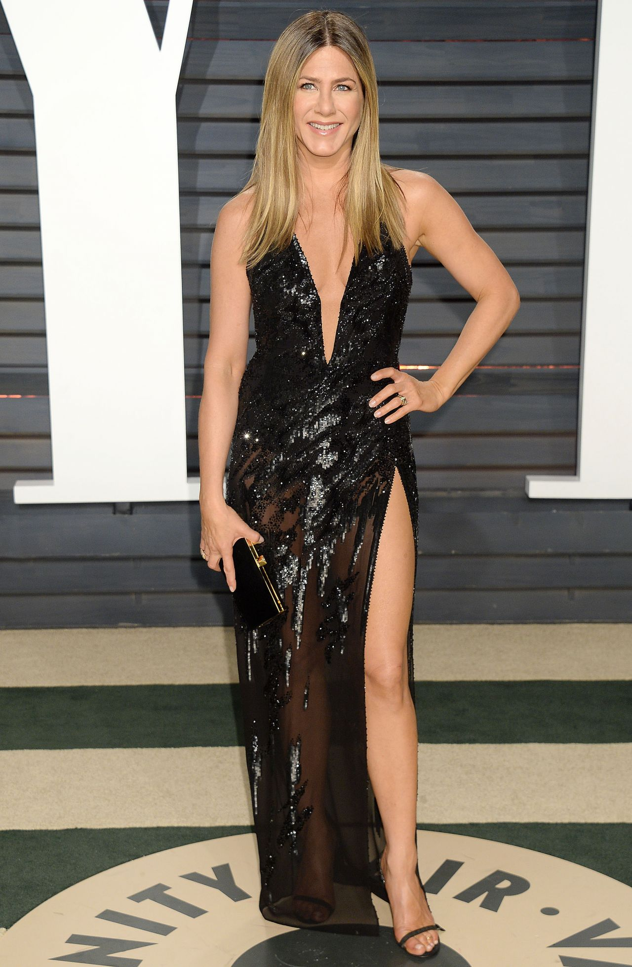 Jennifer Aniston At Vanity Fair Oscar 2017 Party In Los