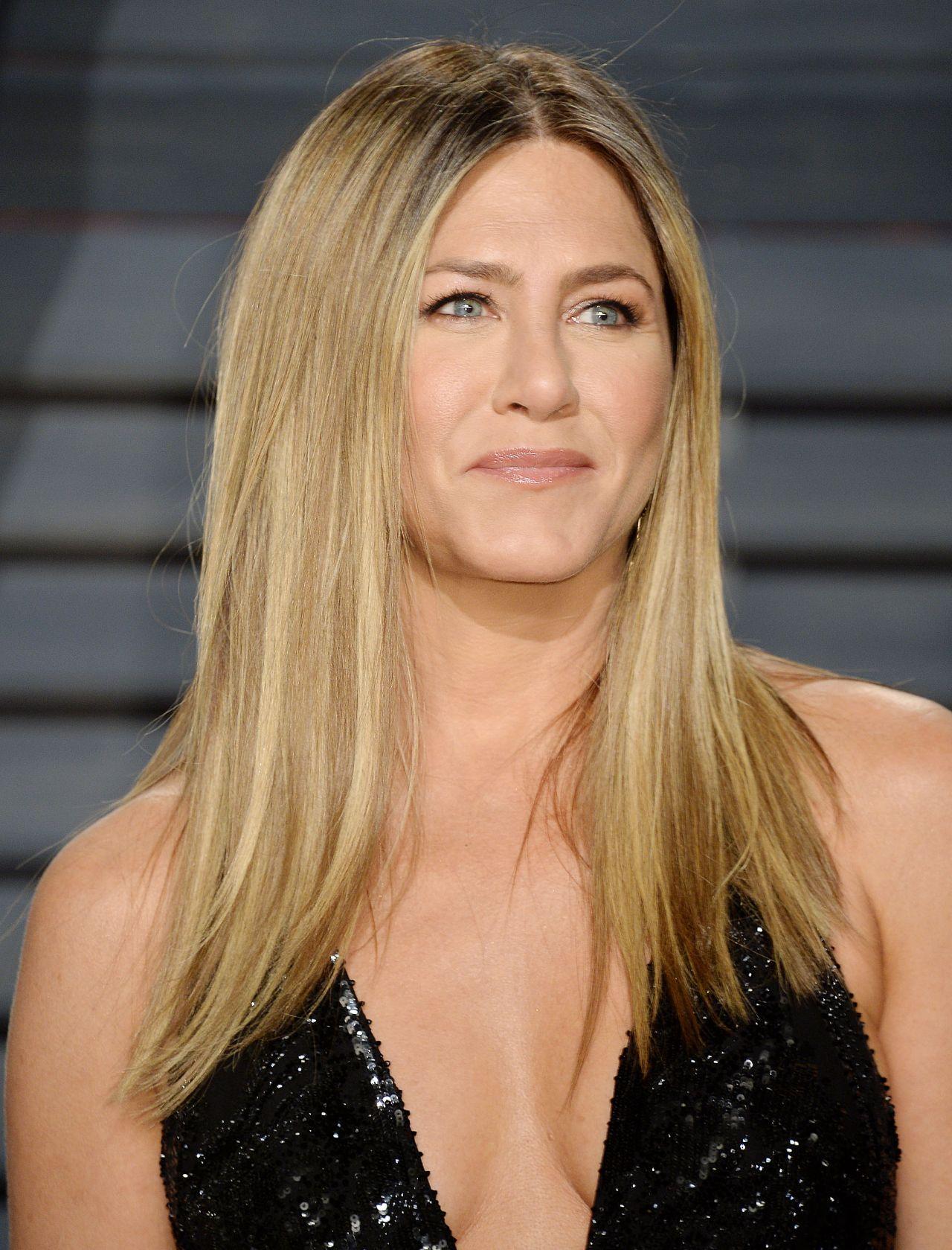 Jennifer Aniston At Vanity Fair Oscar 2017 Party In Los
