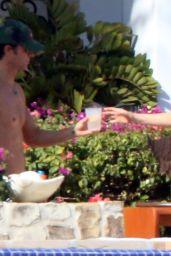 Jennifer Aniston Wearing a Bikini in Los Cabos, Mexico 2/11/ 2017