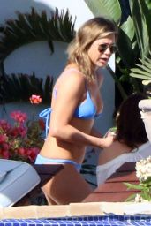 Jennifer Aniston Wearing a Bikini in Los Cabos, Mexico 2/11/ 2017