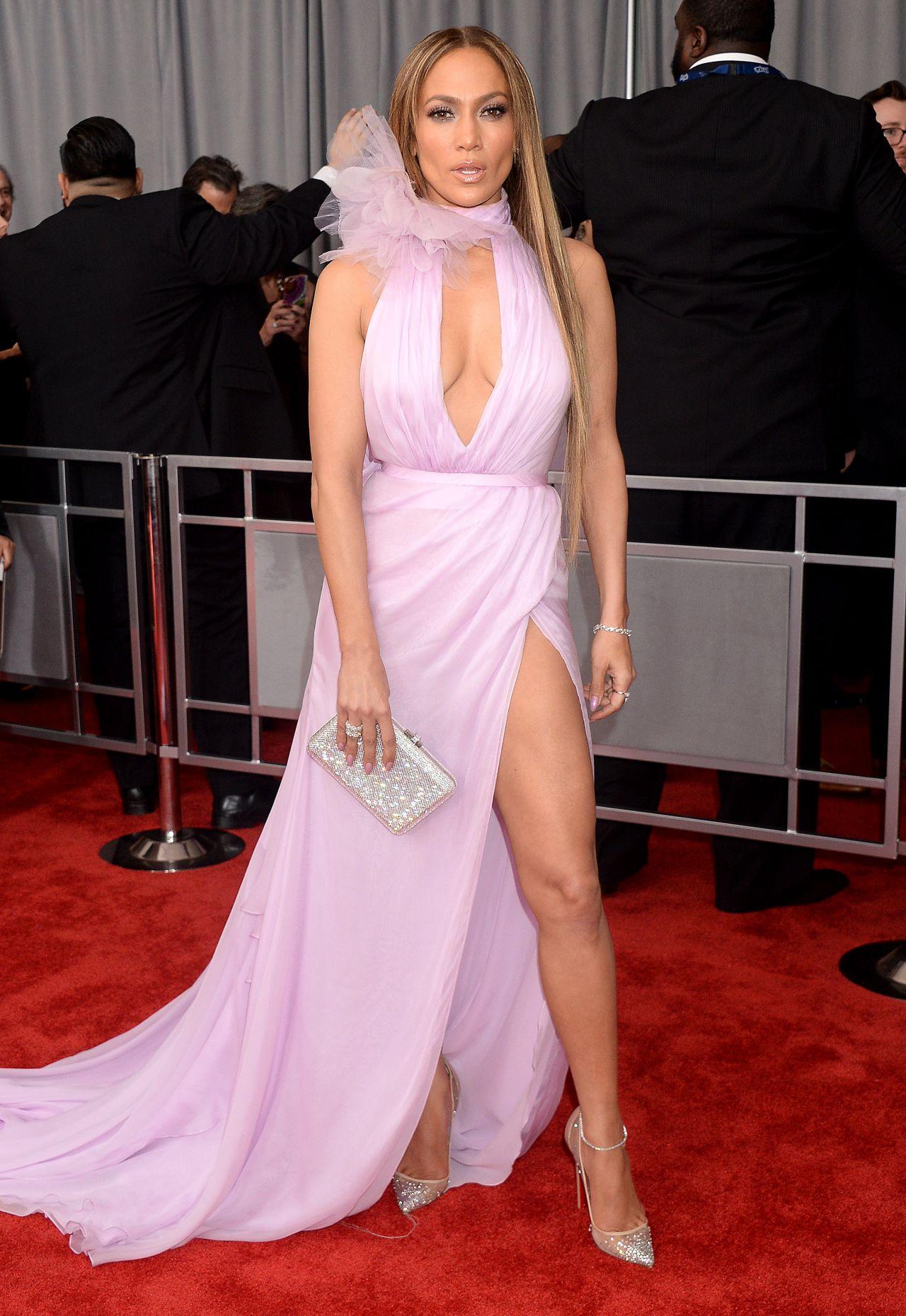 Jennifer Lopez 2017 GRAMMYs