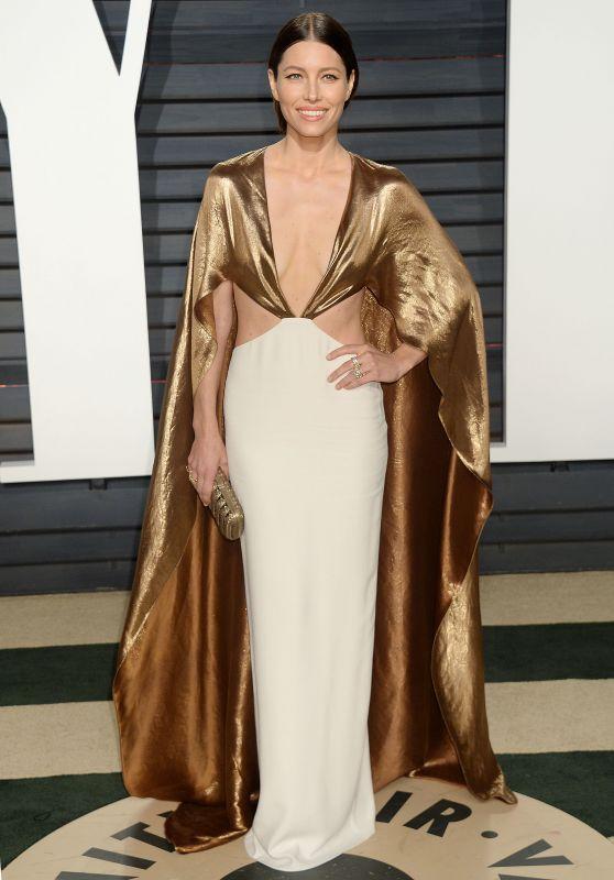 Jessica Biel at Vanity Fair Oscar 2017 Party in Los Angeles