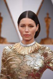 Jessica Biel – Oscars 2017 Red Carpet in Hollywood