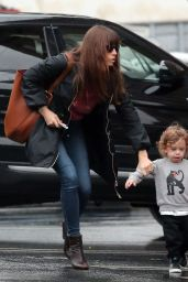 Jessica Biel - Out With Her Son in Santa Monica 2/7/ 2017