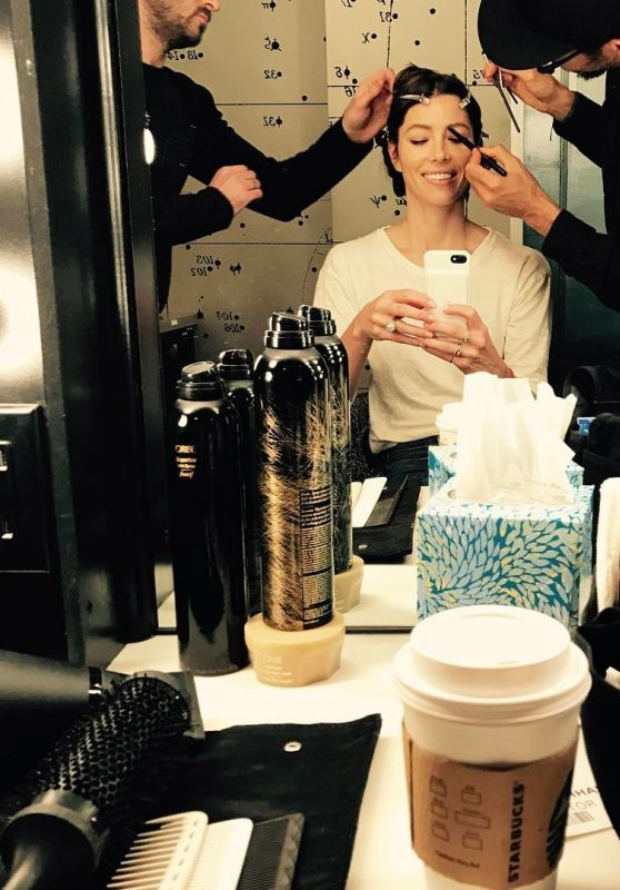Jessica Biel Pics – Celebrity Social Media 2/27/ 2017