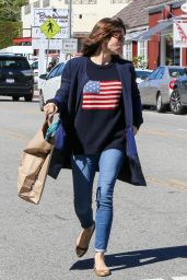 Jessica Biel - Shopping at Crazy Toys in Brentwood Country Mart 2/23/ 2017