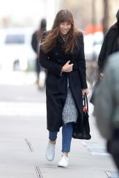 Jessica Biel Street Style - Shopping in New York 2/16/ 2017
