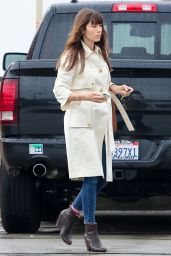 Jessica Biel - Went Out For a Lunch in Santa Monica, 2/6/ 2017