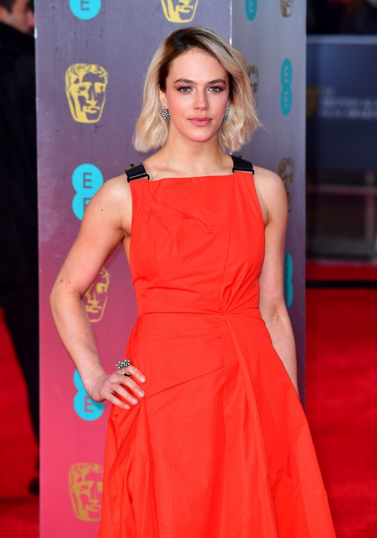 Jessica Brown Findlay - BAFTA Awards at Royal Albert Hall in London, England 2/12/ 2017