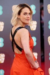 Jessica Brown Findlay - BAFTA Awards at Royal Albert Hall in London, England 2/12/ 2017