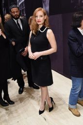 Jessica Chastain - The Pirelli Calendar Presents: Peter Lindbergh On Beauty in NYC 2/13/ 2017