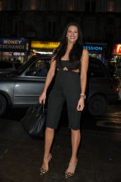 Jessica Cunningham Night Out Style - Party at Cafe De Paris in London, February 2017