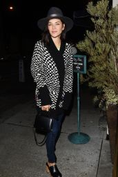 Jessica Szohr - Outside Catch Restaurant in Los Angeles 2/20/ 2017