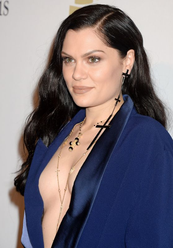 Jessie J – Clive Davis Pre-Grammy 2017 Party in Beverly Hills