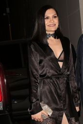 Jessie J Night Out Style - Leaves Catch in LA 2/12/ 2017