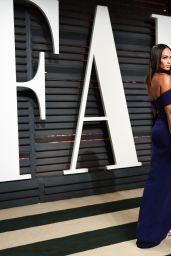 Joan Smalls at Vanity Fair Oscar 2017 Party in Los Angeles