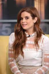JoAnna Garcia on Good Day New York in NYC 2/15/ 2017