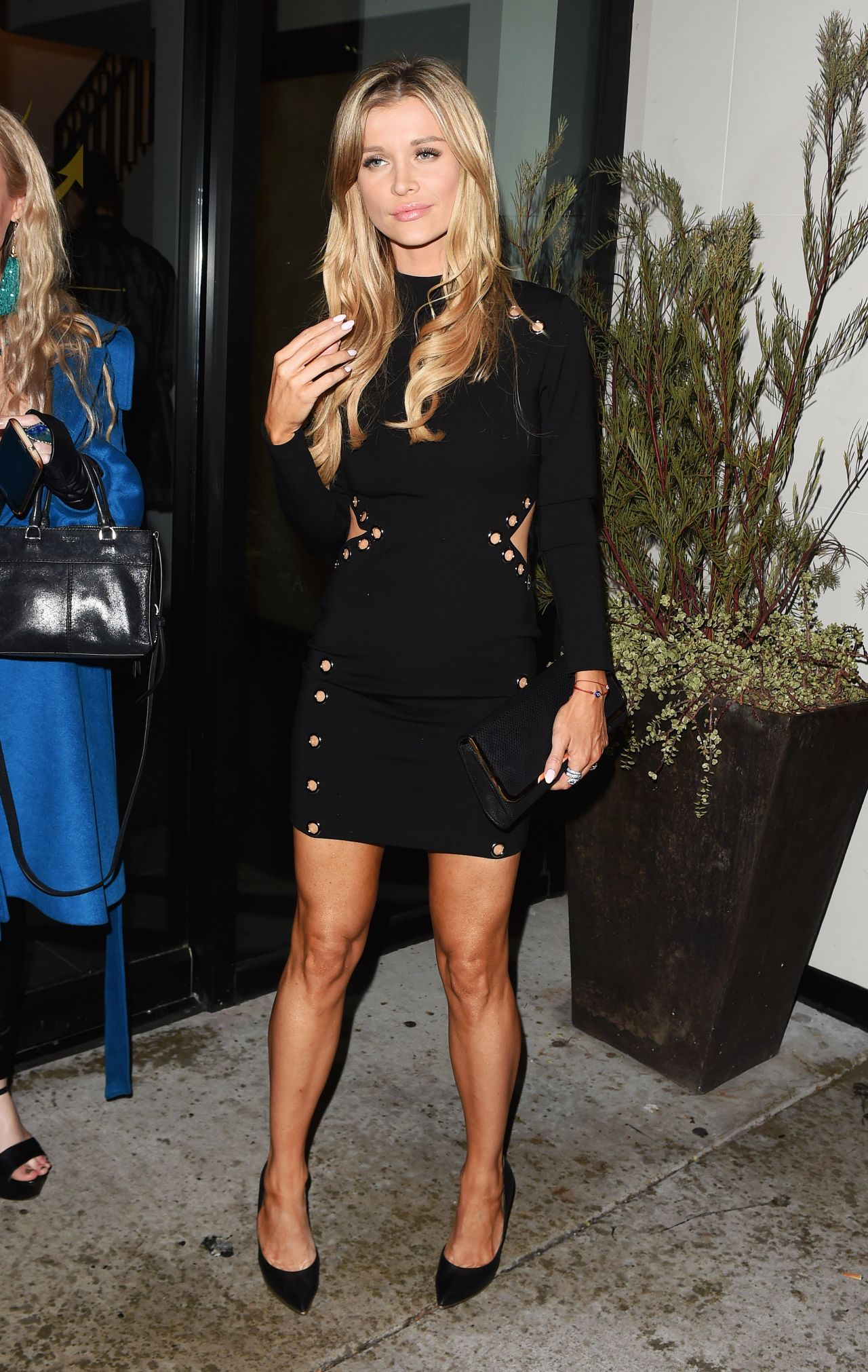 Joanna Krupa leaves Catch LA restaurant