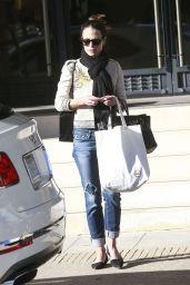 Jordana Brewster - Shopping at Barneys New York in Beverly Hills 2/23/ 2017