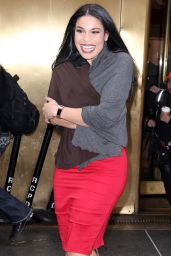 Jordin Sparks - TODAY Show in NYC 2/23/ 2017