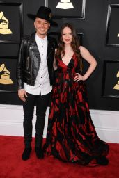 Joy Huerta – GRAMMY Awards in Los Angeles 2/12/ 2017
