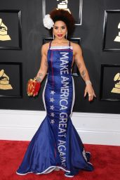 Joy Villa – GRAMMY Awards in Los Angeles 2/12/ 2017