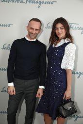 Julia Restoin Roitfeld at Milan Fashion Week- Salvatore Ferragamo Show 2/27/ 2017