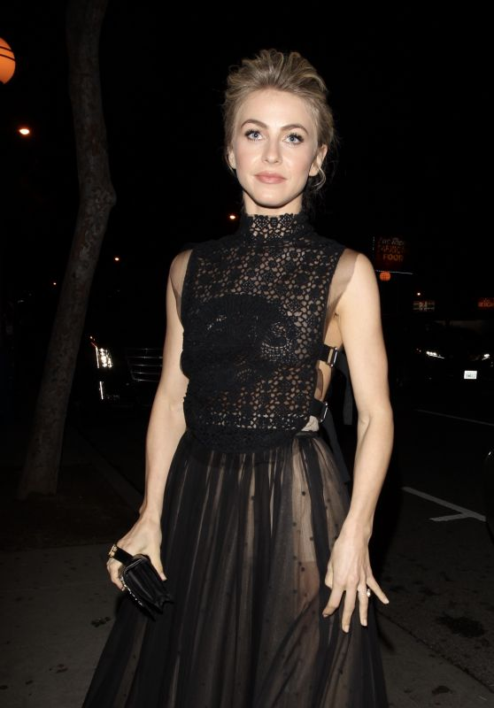 Julianne Hough - Dior Addict Lacquer Stick Launch in West Hollywood 2/8/ 2017