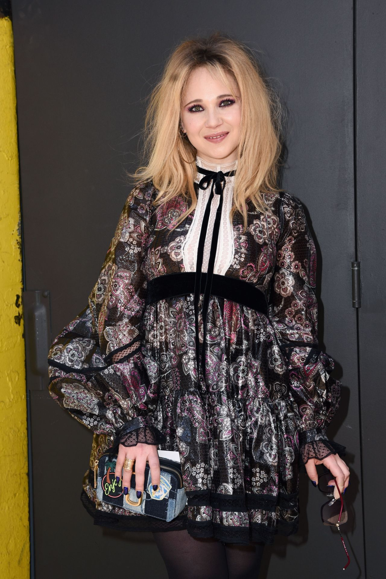 Juno Temple Marc Jacobs Fashion Show In Nyc 2 16 2017