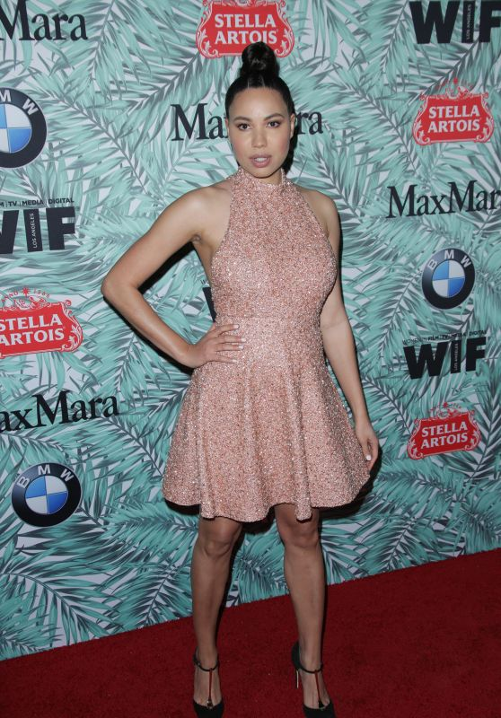 Jurnee Smollett-Bell - Women in Film Pre-Oscar Cocktail Party in Los Angeles 2/24/ 2017