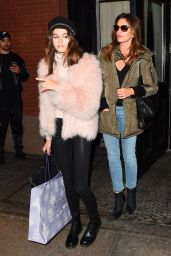 Kaia Gerber and Cindy Crawford - Mercer Street Hotel in New York City 2/15/ 2017