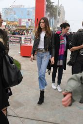 Kaia Gerber – Tommy Hilfiger Spring 2017 Women's Collection, Los Angeles 2/8/ 2017