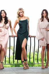 Karlie Kloss, Jessica Gomes and Jesinta Campbell - Photoshoot in Sydney 1/31/ 2017