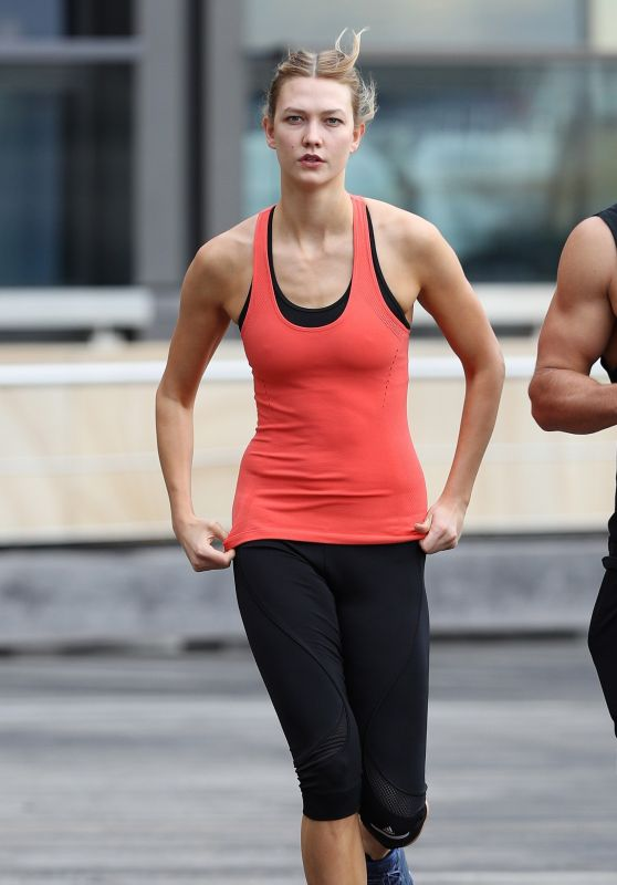 Karlie Kloss - Out for a Jog in Sydney 2/2/ 2017