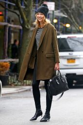 Karlie Kloss - Out in NYC 2/8/ 2017