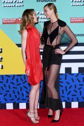 Karlie Kloss - The Naked Heart Foundation Fabulous Fund Fair in London 2/22/ 2017