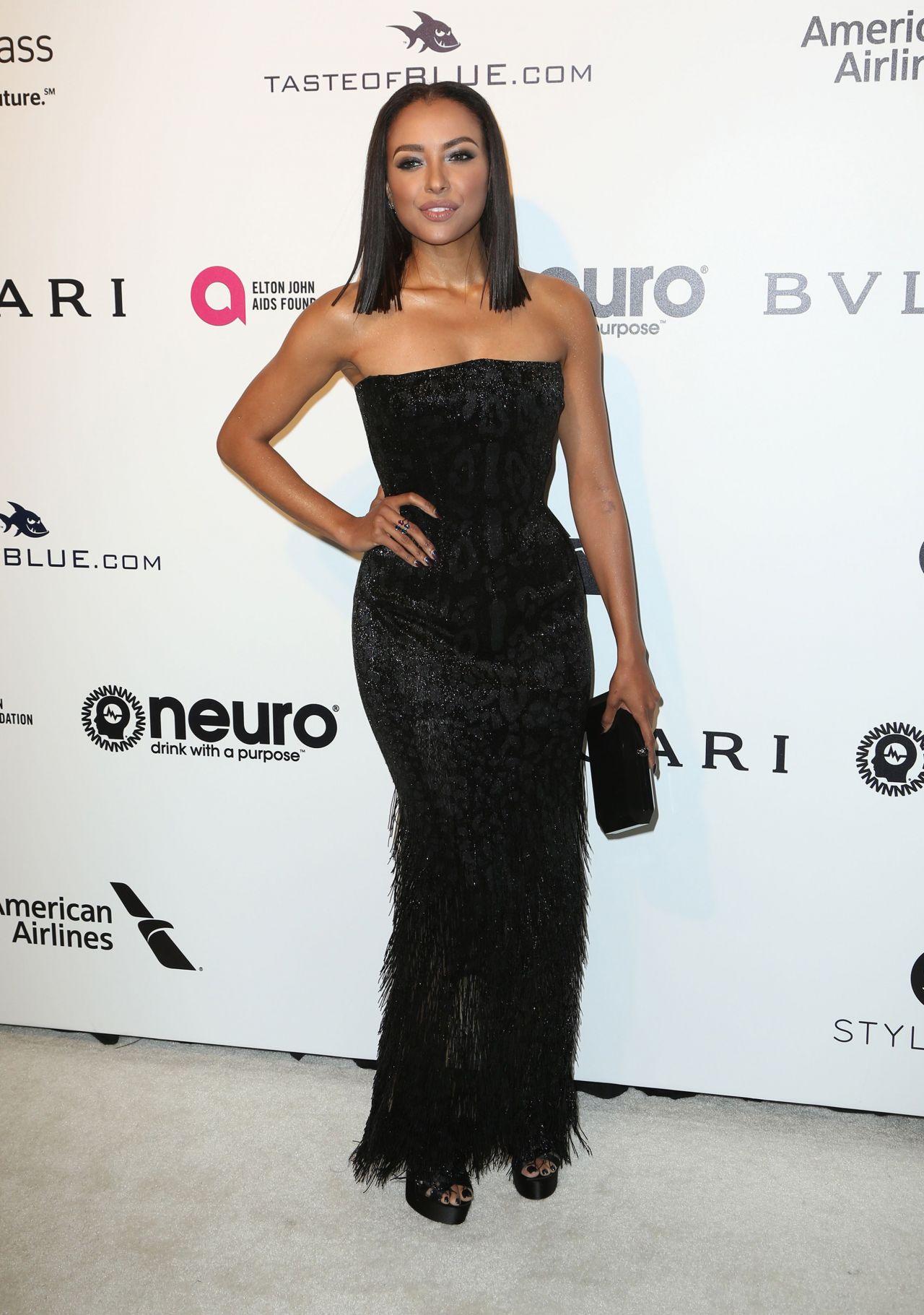 Kat Graham at Elton John AIDS Foundation Academy Awards ...