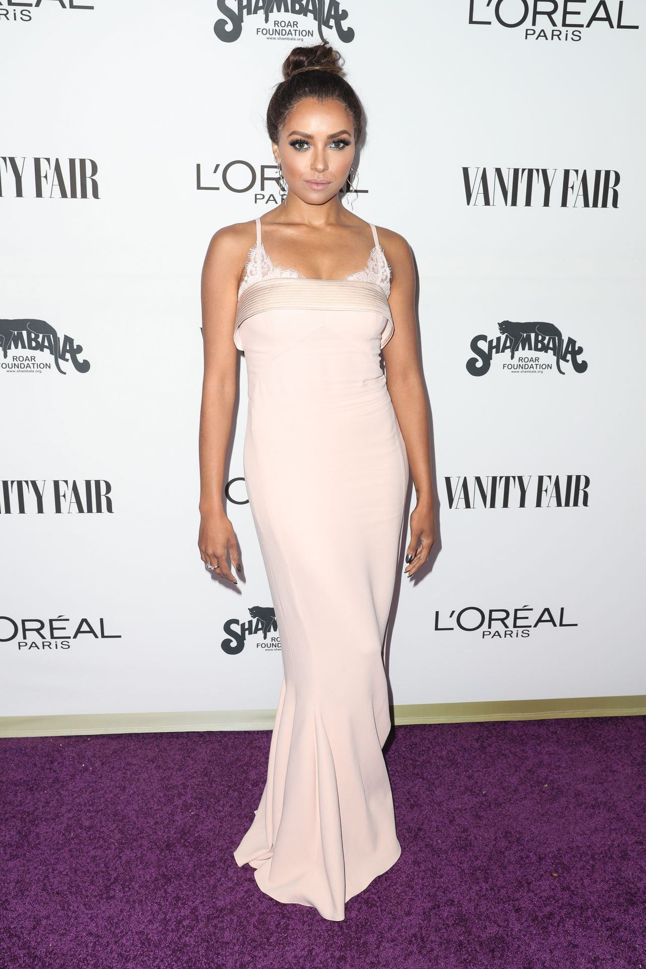 Kat Graham – Vanity Fair and L'Oreal Paris Toast to Young Hollywood in West Hollywood 2/21/ 2017
